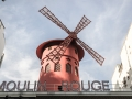 The Moulin Rouge, Paris, france.