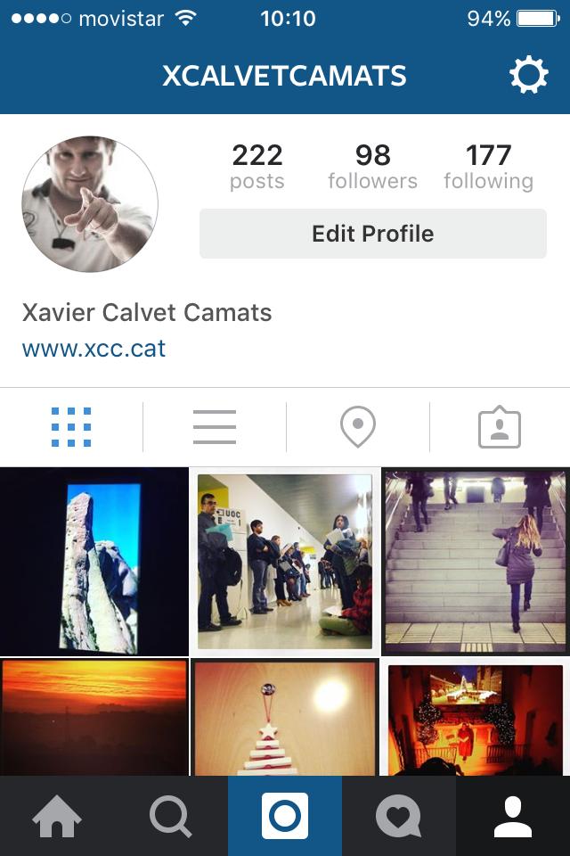 Imatge perfil Xavier Calvet Camats (www.xcc.cat)