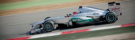 Formula 1 test days 2013 a Montmeló
